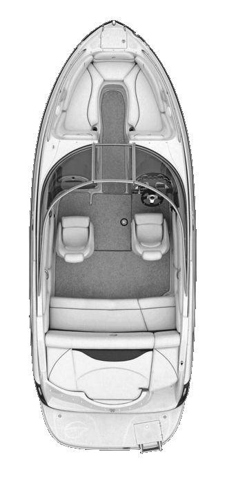 Layout Crownline Bowrider 225 SS