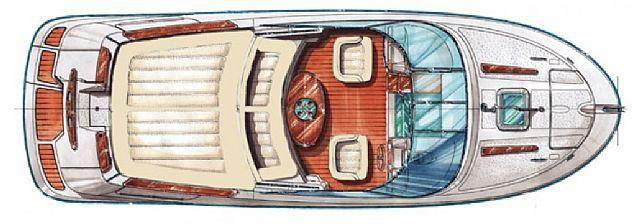 Layout Jeanneau Runabout 755