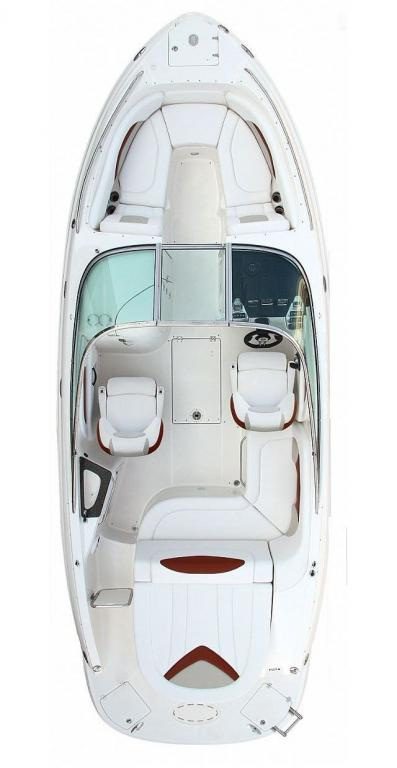 Layout Chaparral SSX Sport Boat 236