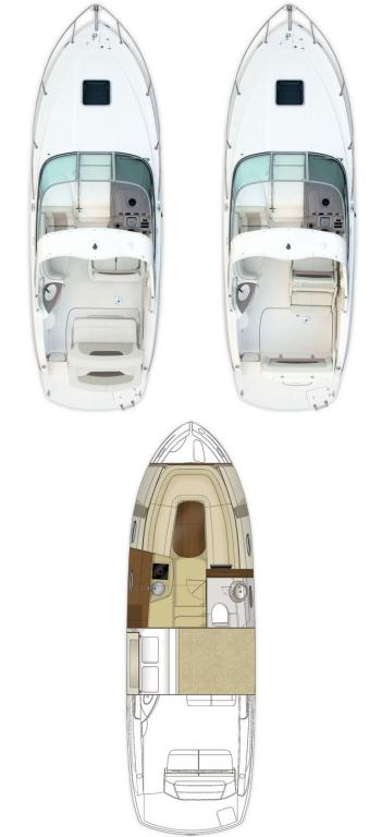 Layout Chaparral 270 Signature