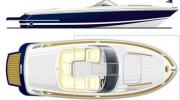 Interiors & cabin layout Chris Craft Lancer 22 Rumble (Layout)