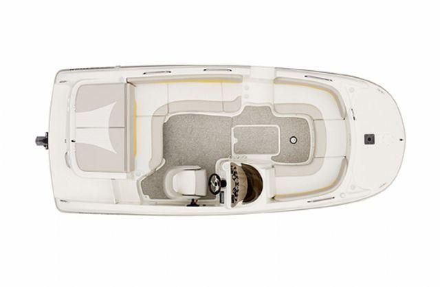 Layout Glastron Deck Boat DS 205