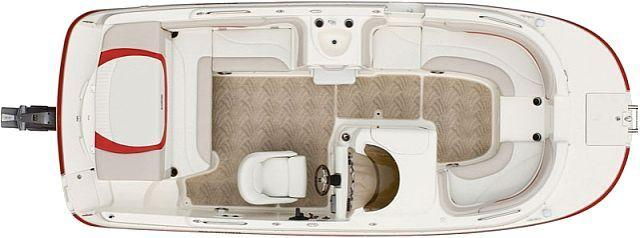 Layout Glastron Deck Boat DS 215