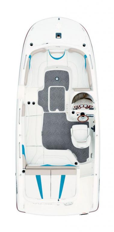 Layout Glastron Deck Boat GT 205