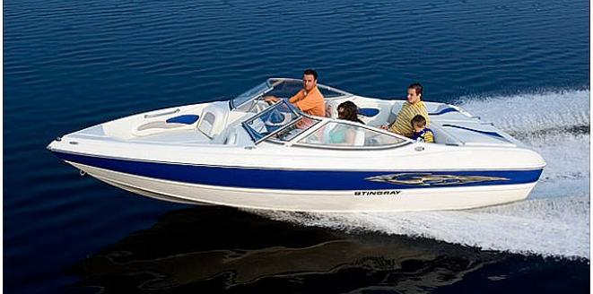 Stingray Fish & Ski 195 FX Neuboot