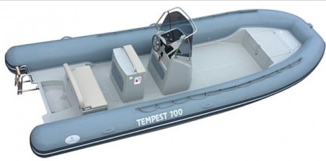 Capelli Tempest 700 WORK New boat