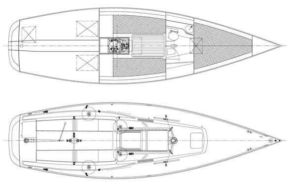 Layout J Boats J 100
