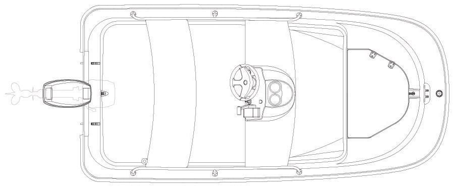 Layout Boston Whaler 110 Sport