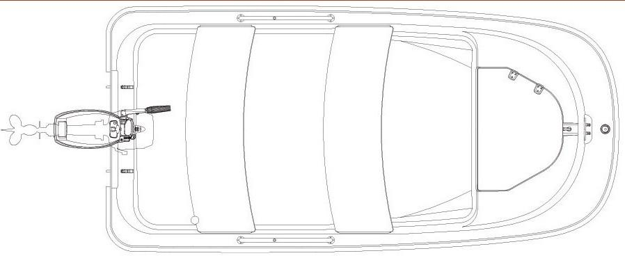 Layout Boston Whaler 110 Tender
