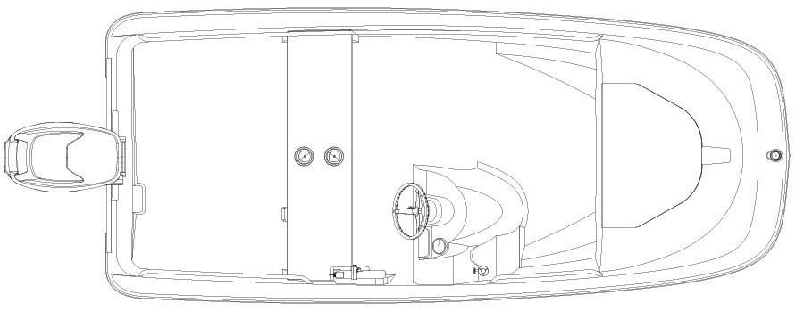 Layout Boston Whaler 130 Super Sport