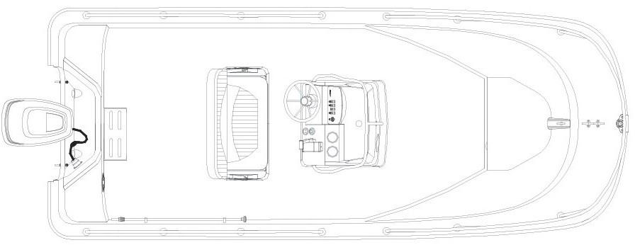Layout Boston Whaler 170 Montauk