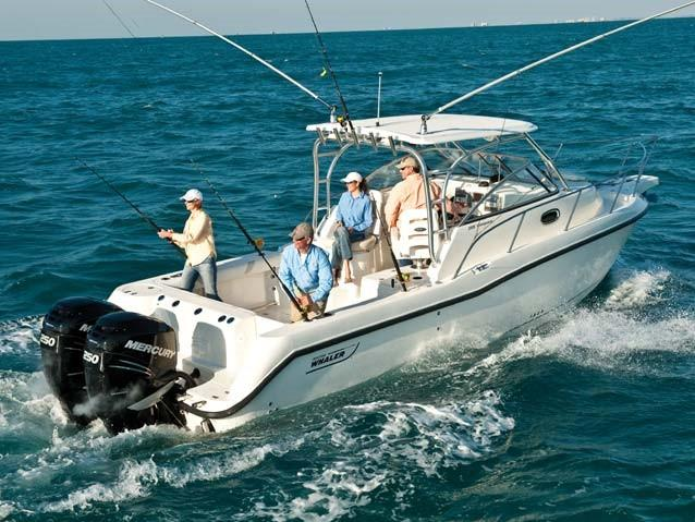 Aussenansicht Boston Whaler 285 Conquest Neuboot