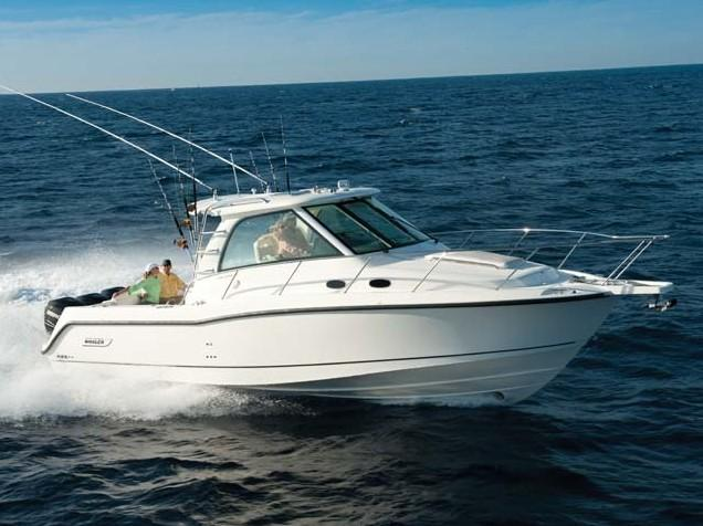 Aussenansicht Boston Whaler 345 Conquest Neuboot