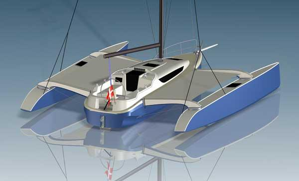 Exterior Dragonfly 32 New Boat