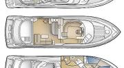 Interiors & cabin layout Carver Voyager 53 (Layout)