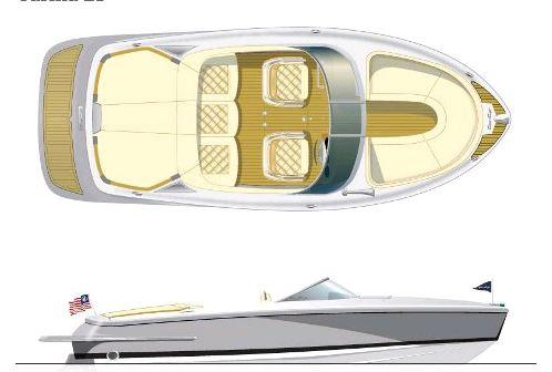 Layout Chris Craft Carina 21