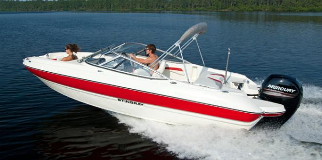 Stingray Sport Deck 204 LR Neuboot