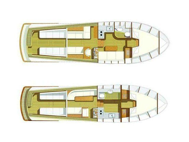 Layout Egemar Lobster / Liberty 35Open