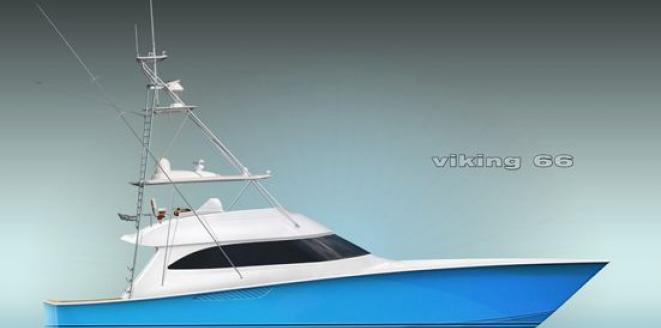 Viking Convertible 66 Neuboot