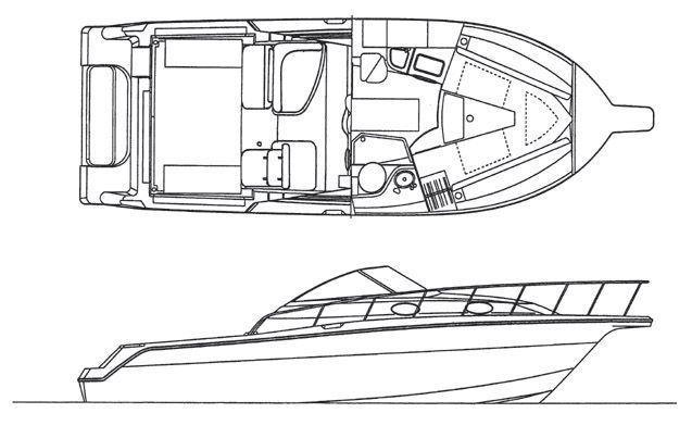 Layout Wellcraft 290 Coastal