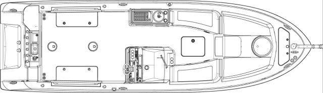 Layout Wellcraft Scarab 30 Sport