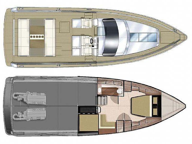 Layout Fjord 40 open