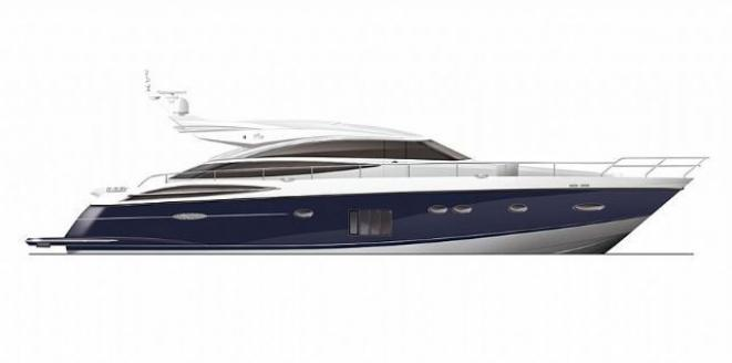Princess V72 Neuboot
