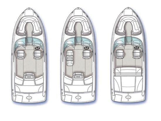 Layout Sea Ray Sport Boat 230 SLX