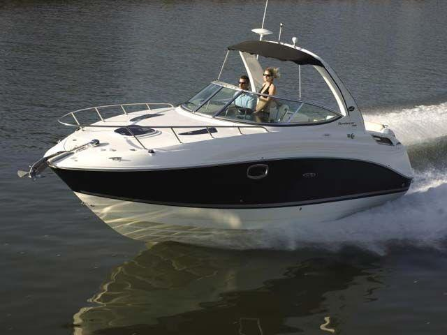 esterno Sea Ray Sport Cruiser 260Sundancer Barca nuova