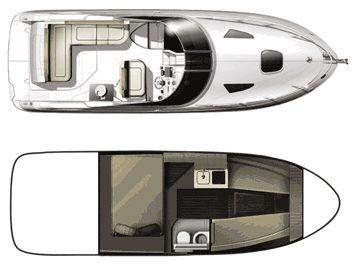 Layout Sea Ray Sport Cruiser 260Sundancer