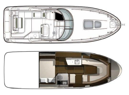 Layout Sea Ray Sport Cruiser 310Sundancer