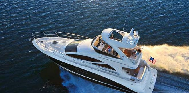 Sea Ray Sport Yacht 450 Sedan