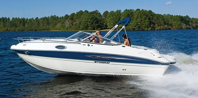 Stingray Cuddy Cabin 215 CR Neuboot