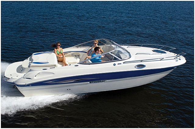 Aussenansicht Stingray Cuddy Cabin 235 CR Neuboot