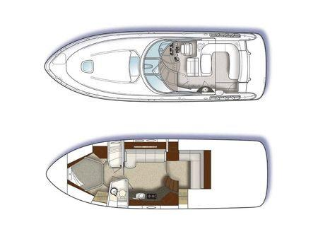 Layout Sea Ray Sport Yacht 425Sundancer