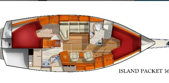 Island Packet IP 360 New boat