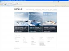 Sealine - Neue Homepage