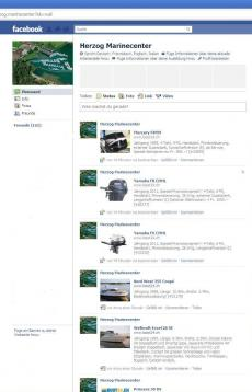 Herzog Marinecenter goes Facebook