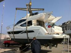 Galeon 380 Fly - Ankunft in Genf!